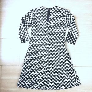Just...Taylor Dresses - Just Taylor Black & White Dress w/ Pockets